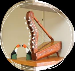 中南米で演奏される「アルパ」と呼ばれる楽器